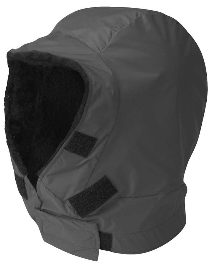 Buffalo DP Hood Shirt and Jacket Accessory S Charcoal