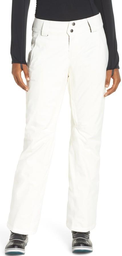 Patagonia Insulated Snowbelle Reg Women's Ski Pants, L Birch White