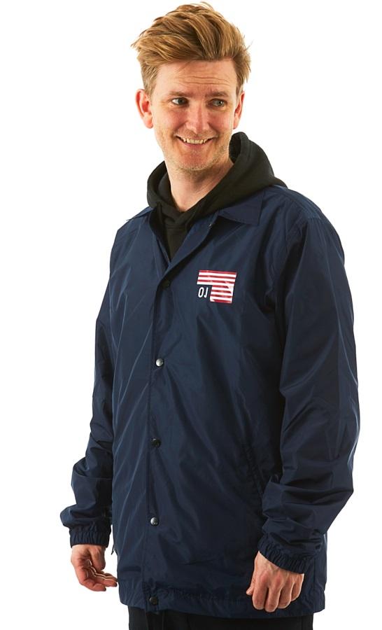 Analog Sparkwave Coaches Ski/Snowboard Jacket, S Mood Indigo
