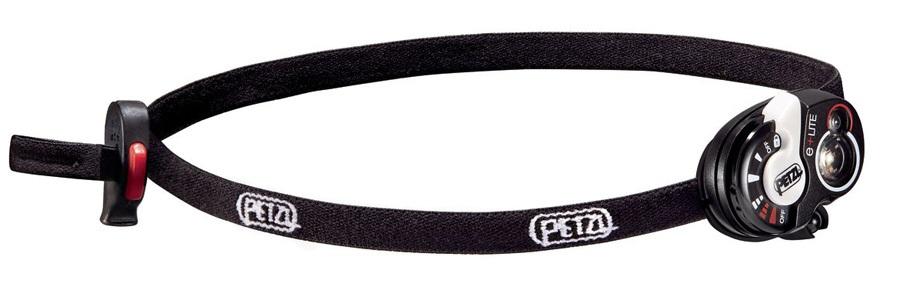 Petzl E+LITE Compact Emergency LED Headlamp 30 Lumens Black