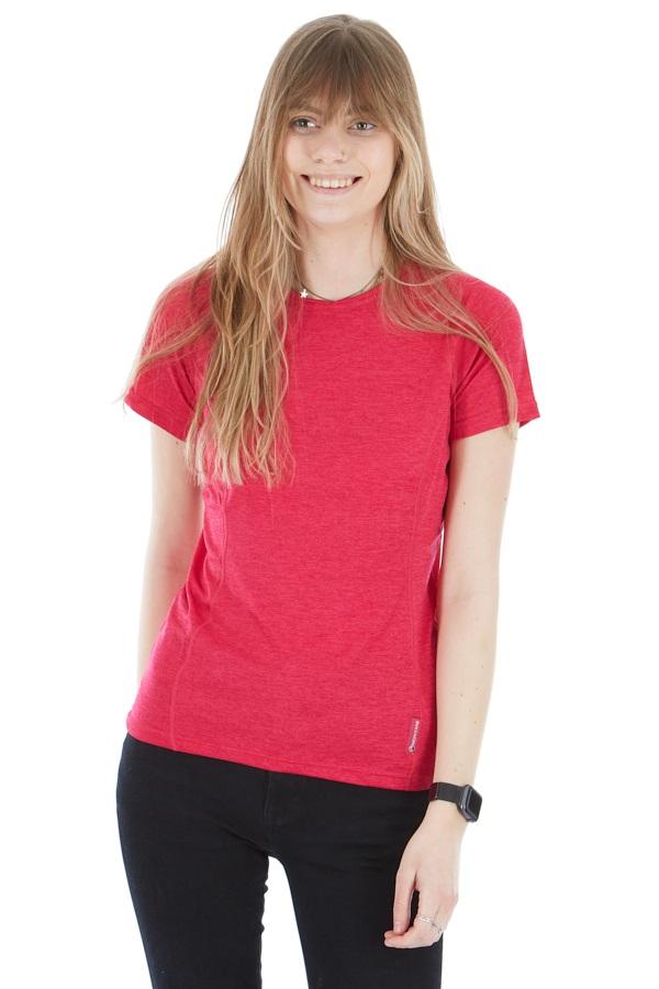 Montane Dart Women's Technical Crew T-shirt, UK 8 French Berry