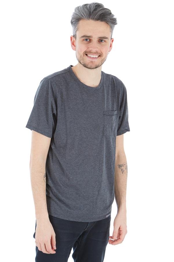 Montane Neon Quick Dry Cotton Blend Crew T-Shirt, S Charcoal