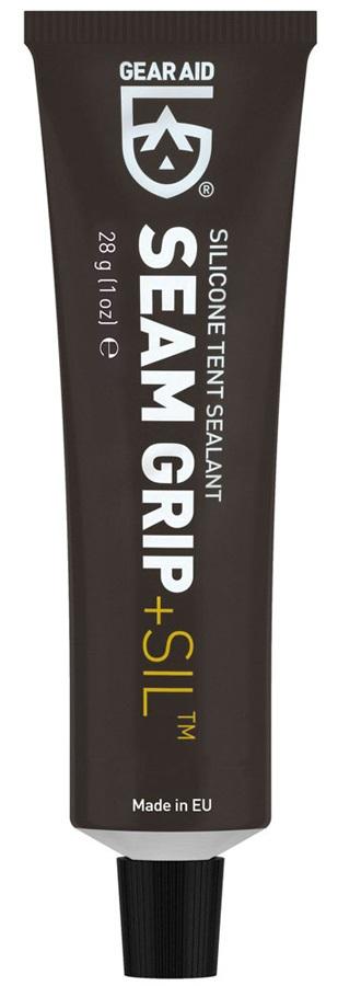 Gear Aid Seam Grip + Sil Silicone Tent Sealant, 28g Black