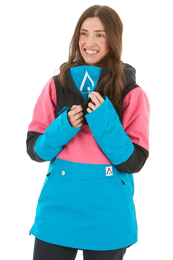 Wearcolour Homage Anorak Women's Snowboard/Ski Jacket, L Enamel Blue
