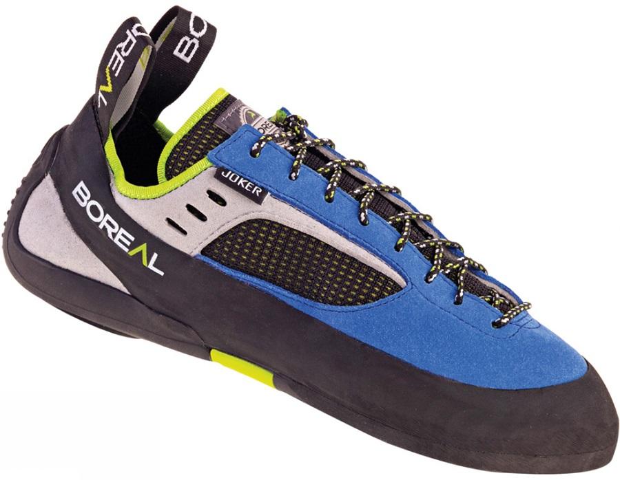 Boreal Joker Lace Rock Climbing Shoe UK 13.5 | EU 49 Blue
