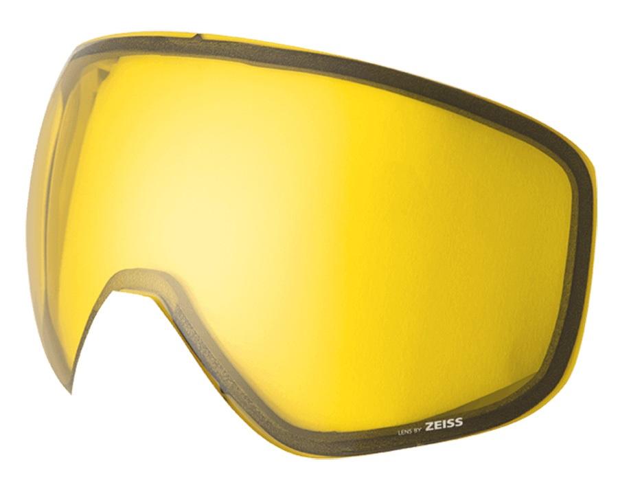 Melon Jackson Ski/Snowboard Goggle Lens, One Size Yellow Low Light