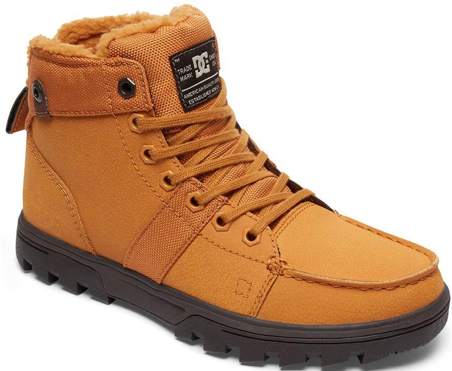 DC Adult Unisex Woodland Men's Winter Boots, Uk 7 Wheat