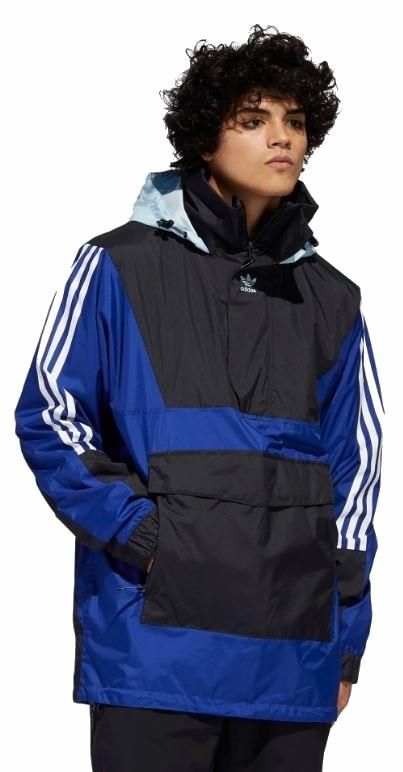 Adidas Anr10k Ski/Snowboard Jacket, M Blue/Black