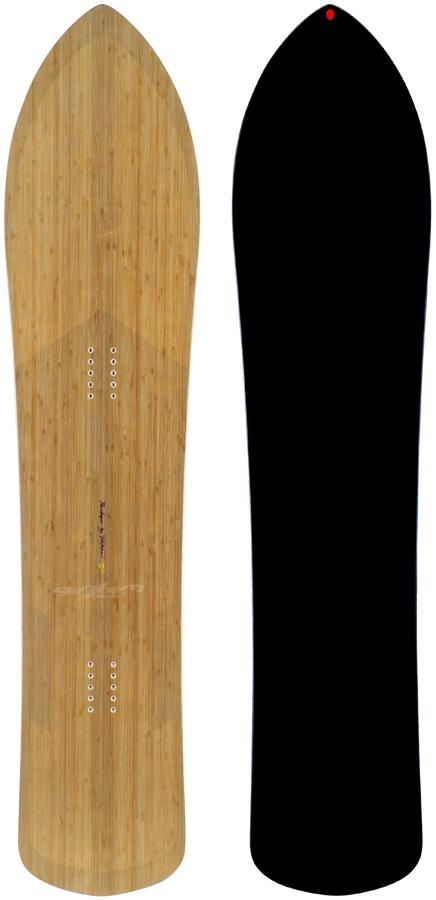 Gentemstick The Chaser Hybrid Camber Snowboard, 156cm 2021