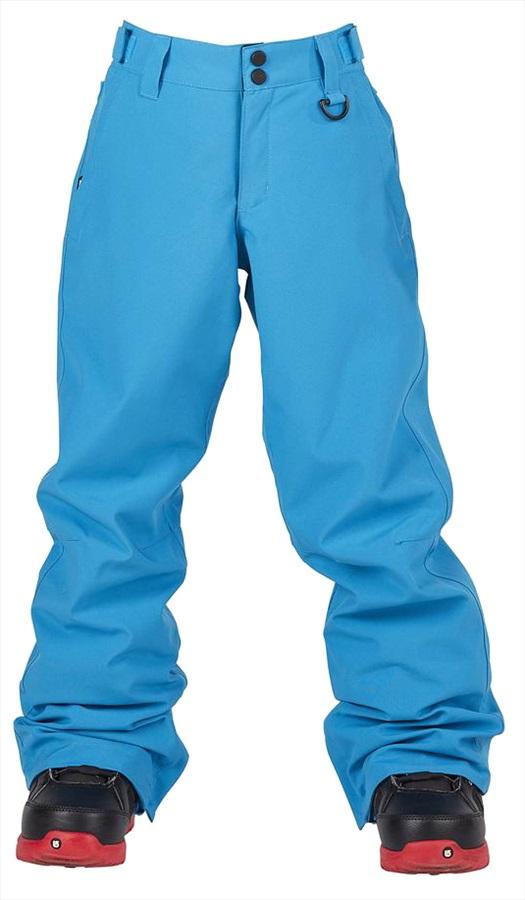 Bonfire Child Unisex Tactical Youth Ski / Snowboard Pants, M Cyan
