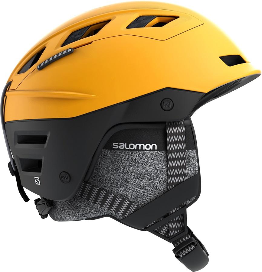 Salomon QST Charge Ski/Snowboard Helmet, S Safran/Black