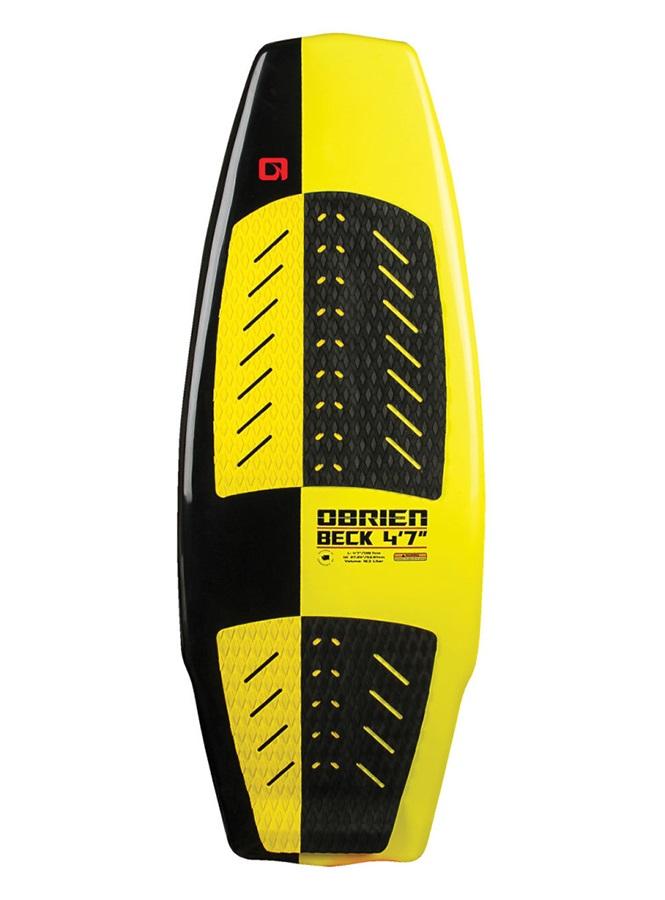"O'Brien Beck Wakesurfer, 4'2"" Yellow Black"