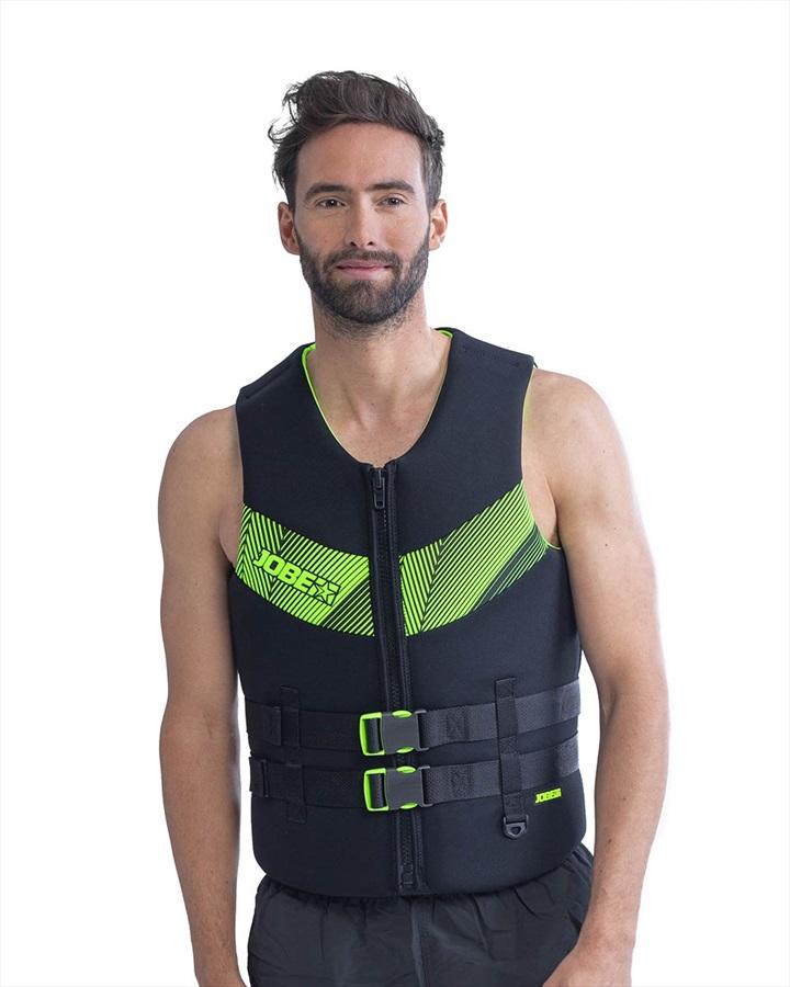 Jobe Neoprene Impact Buoyancy Aid Vest, S Black Lime 2021