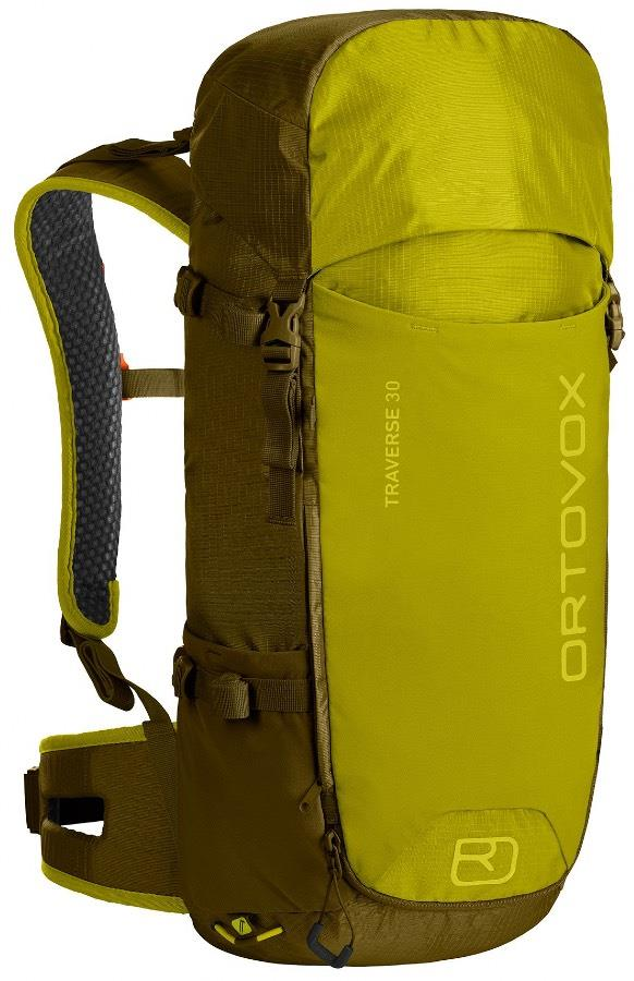 Ortovox Adult Unisex Traverse 30 Mountain Backpack/Rucksack, 30l Green Moss