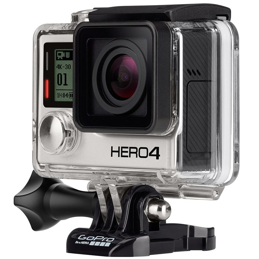 GoPro Hero 4 Action Camera Black Edition, With Full UK Warranty