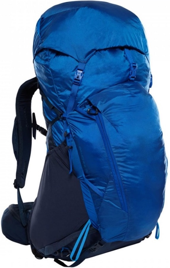 The North Face Adult Unisex Banchee 50 S/M Hiking Backpack, 50 Litres Blue/Navy