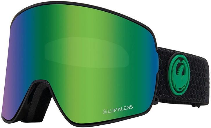 Dragon NFX2 LumaLens Green Ion Snowboard/Ski Goggles, M Split