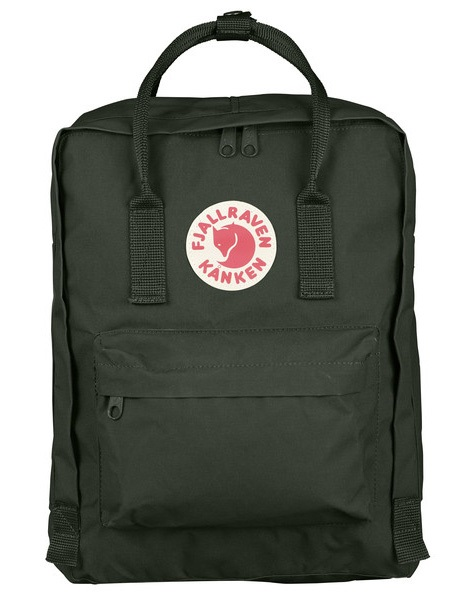 Fjallraven Kanken Day Pack/Backpack, 16L Deep Forest