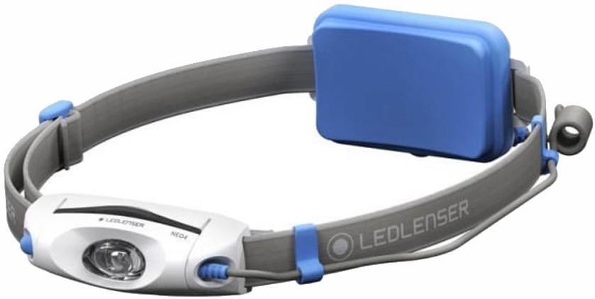 Led Lenser NEO4 Headlamp IPX7 Lightweight Running Head Torch, Blue