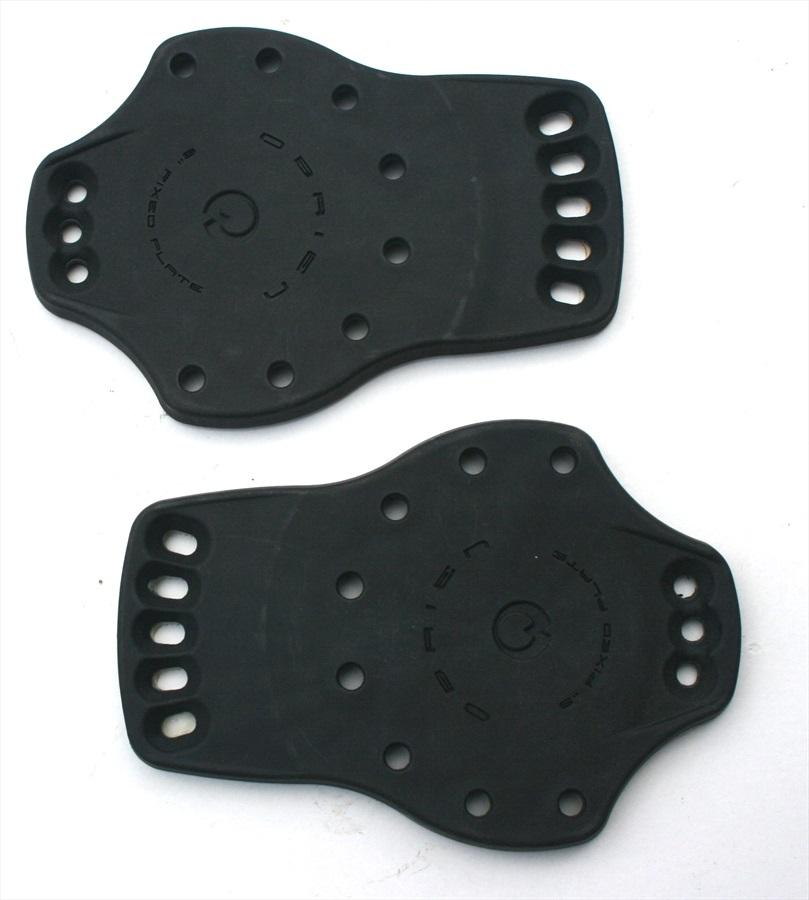 """O'Brien Wakeboard Binding Plate, Fixed 6"""", Black"""