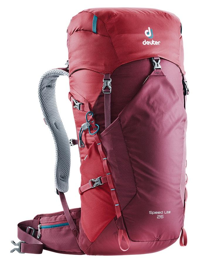 deuter Speed Lite 26 Hiking/Alpine Backpack, 24L Maroon-Cardinal
