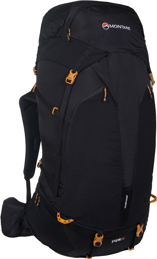 Montane Yupik 65 Long Distance Trekking Backpack, 65L Black