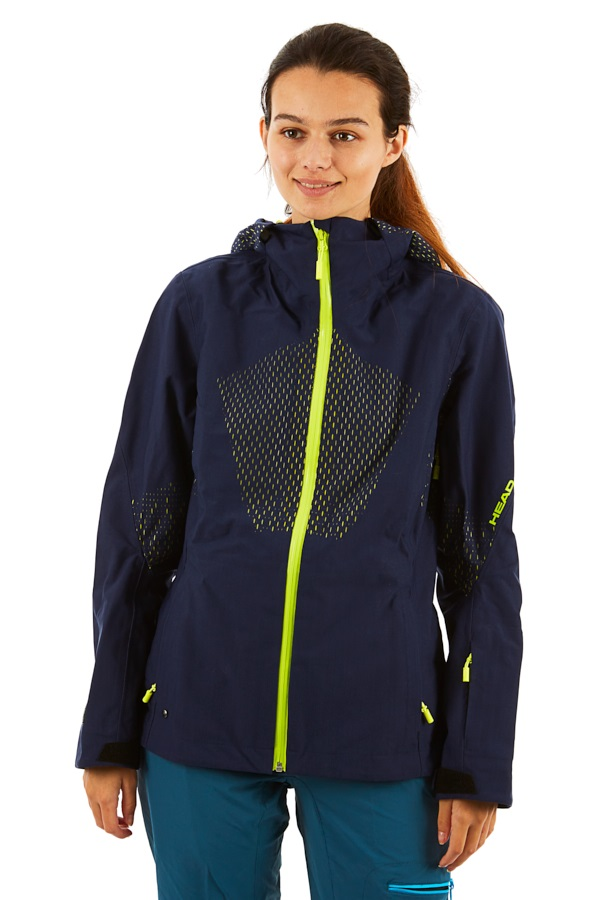 Head EXOphase 3L Women's Snowboard/Ski Jacket, S Navy