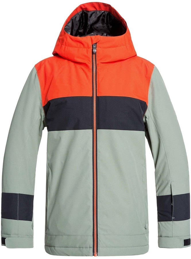Quiksilver Sycamore Kid's Ski/Snowboard Jacket, Age 12 Agave Green