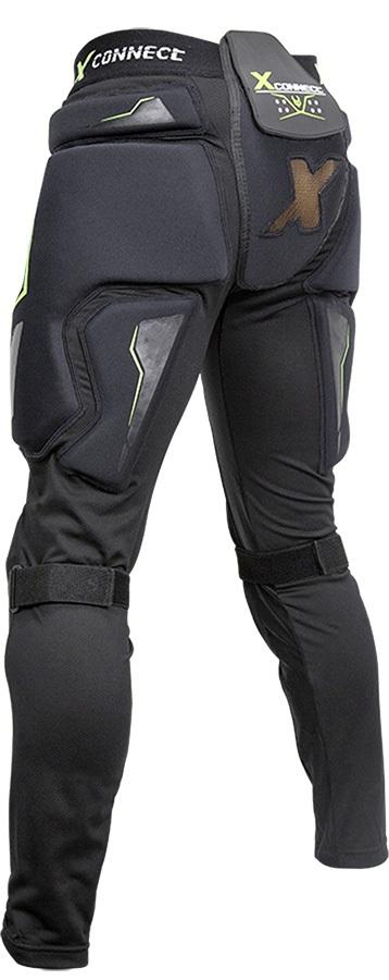 Demon X Connect XD3O Ski/Snowboard Impact Pants, M Black