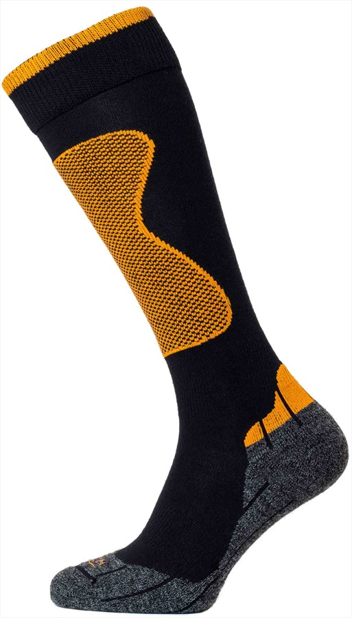 Horizon Performance Expert Merino Wool Ski Socks UK 6-8.5 Orange