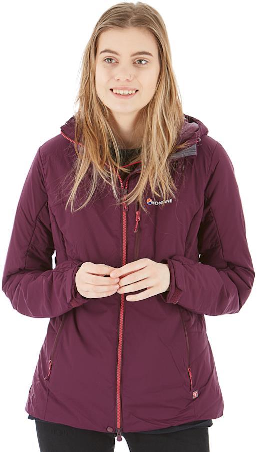 Montane # Fluxmatic Women's Insulated Jacket, UK 12 Saskatoon Berry