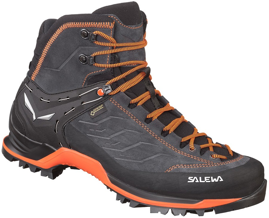 Salewa Adult Unisex Mountain Trainer Mid Gtx Hiking Boot, Uk 10 Asphalt