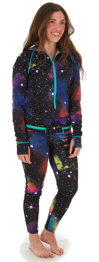 Airblaster Womens Classic Ninja Thermal Base Layer, M Far Out