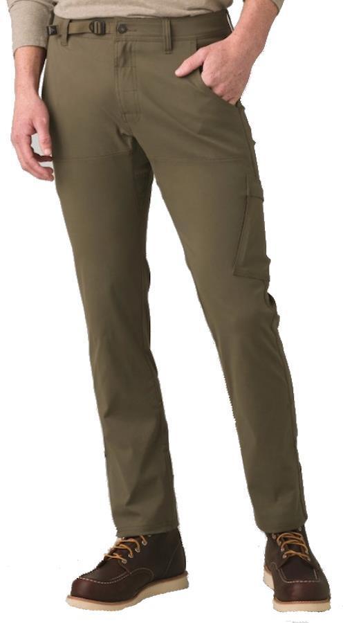 Prana Adult Unisex Stretch Zion Straight Fit Regular Climbing Trousers, S Slate Green