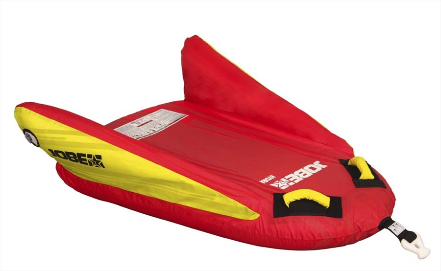 Jobe Hydra Towable Inflatable Tube, 1 Rider Red