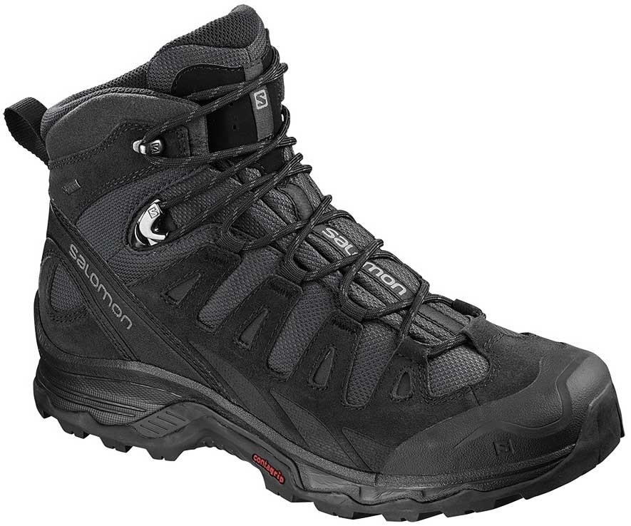 Salomon Quest Prime GTX Gore-Tex Hiking Boots, UK 12.5 Phantom/Black