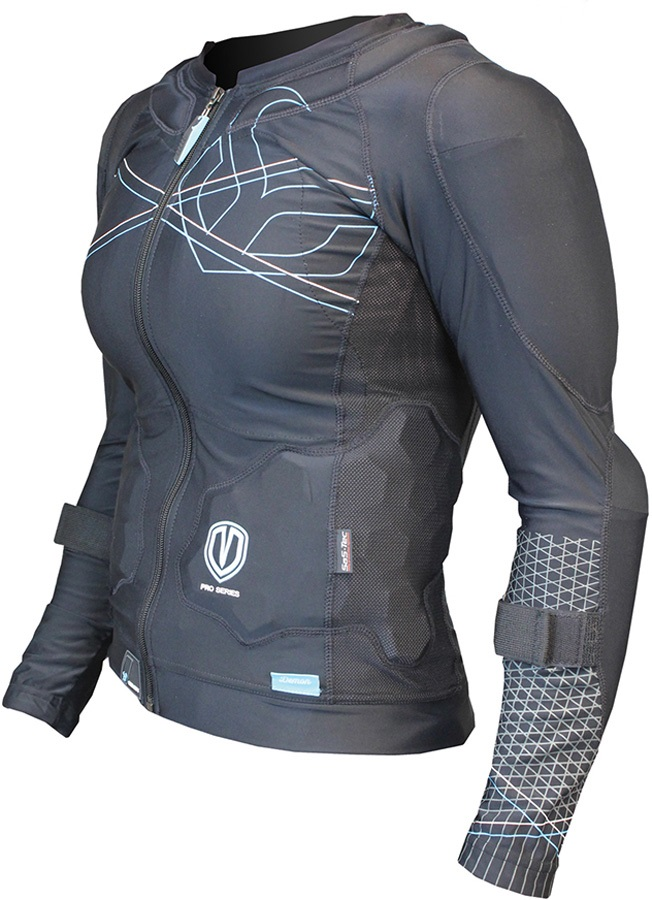 Demon Flex Force Pro Women's Ski/Snowboard Body Armour Top, S Black