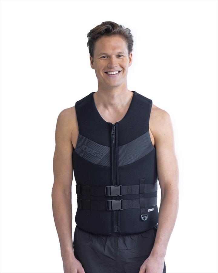 Jobe Neoprene Impact Buoyancy Aid Vest, 5XL+ Black Grey 2021