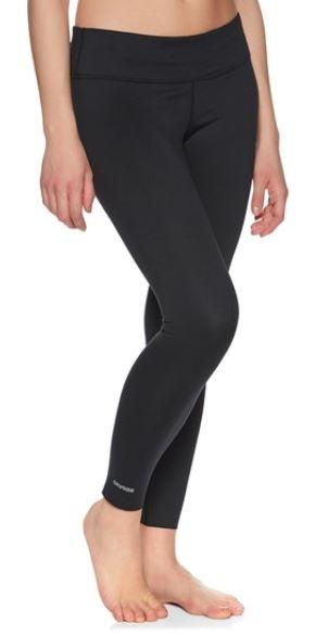Burton Womens Midweight Legging Women's Thermal Pants, XS True Black