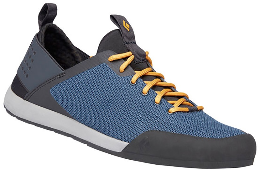 Black Diamond Session Approach Shoes Sock-Fit UK 8 Eclipse Blue/Amber