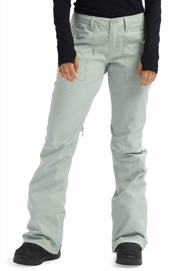 Burton Vida Women's Ski/Snowboard Pants, S Aqua Grey