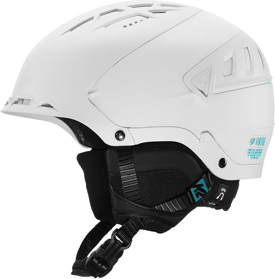 K2 Virtue Women's Snow/Bike Helmet, S White