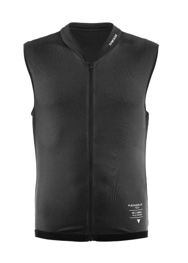 Dainese Adult Unisex Flexagon Lite Armour Full Zip Vest, L Stretch Limo