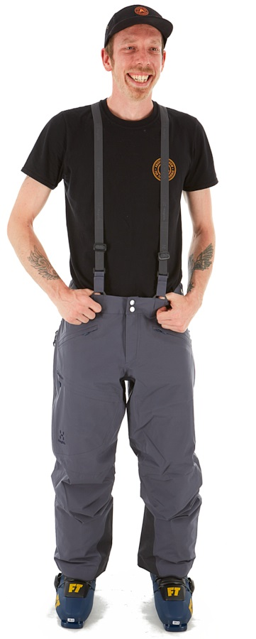 Haglofs Line 2L Ski/Snowboard Pants, L Dense Blue