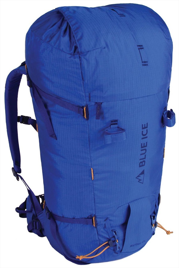 Blue Ice Warthog Backpack S/M Alpine Mountaineering Pack, 45l Blue