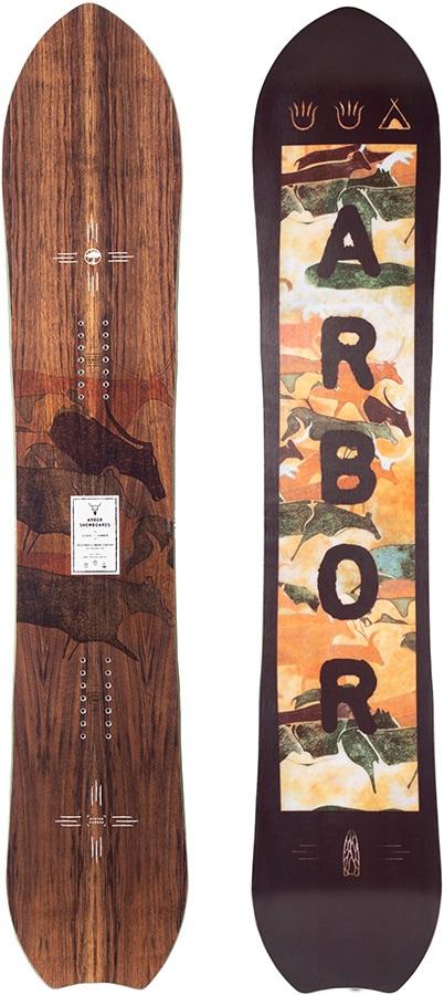 Arbor Clovis Positive Camber Snowboard, 159cm 2021