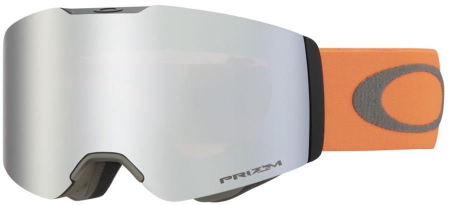 Oakley Adult Unisex Fall Line Orange Brush, Prizm Black Ski/Snowboard Goggles, L