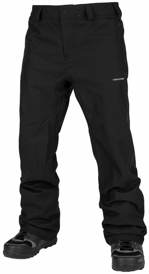 Volcom Adult Unisex Freakin Snow Chino Snowboard/Ski Pants, Xl Black