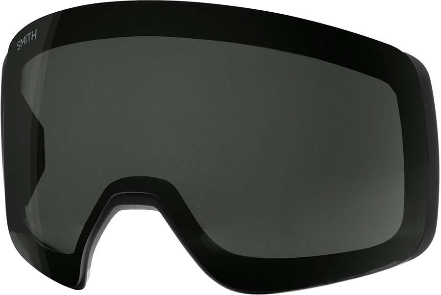Smith 4D Mag Snowboard/Ski Goggle Spare Lens, Chromapop Sun Black
