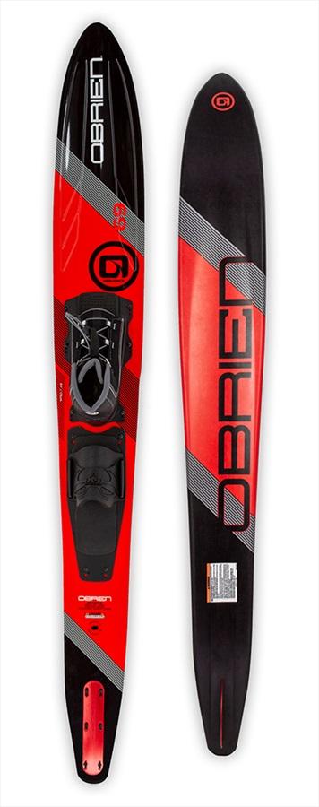 """O'Brien Sequence Slalom Waterski, 67"""" W/ Z9 Std Red Black 2021"""